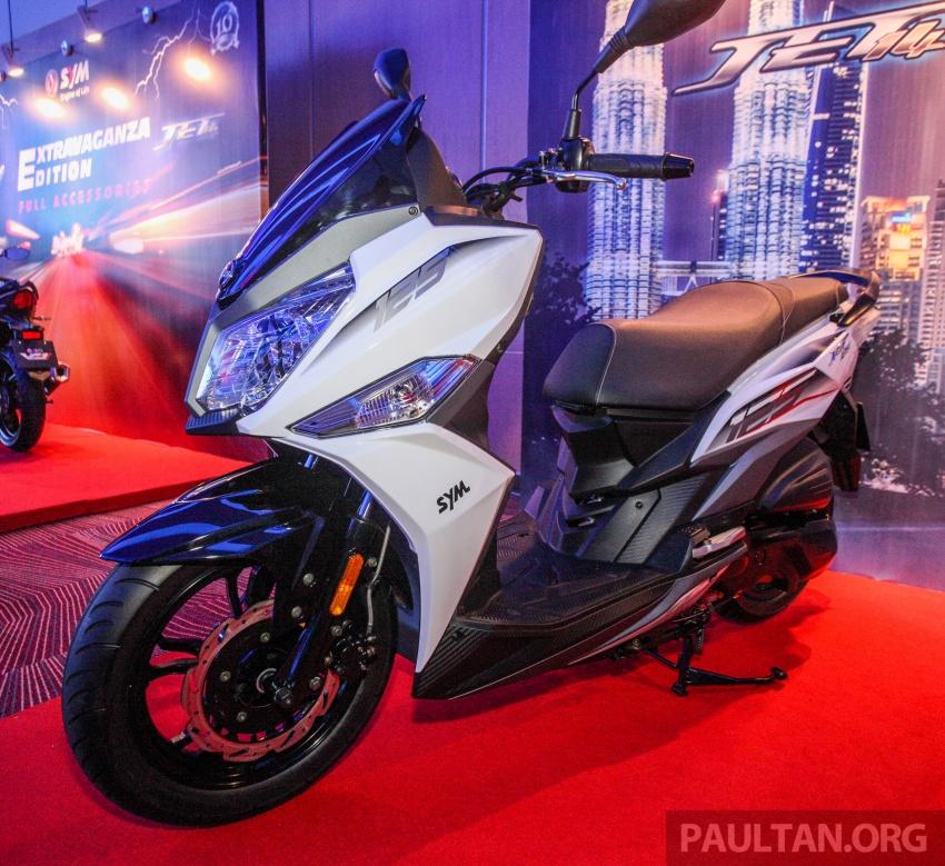 SYM CruiSYM 250i dan Jet 14 tiba di Malaysia – skuter berkapasiti 250 cc dan 125 cc, harga RM20k, RM7k Image #806842