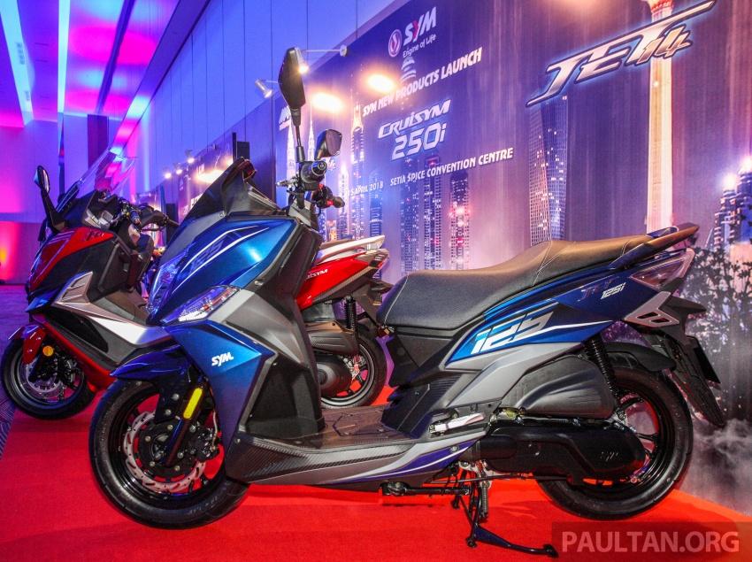 SYM CruiSYM 250i dan Jet 14 tiba di Malaysia – skuter berkapasiti 250 cc dan 125 cc, harga RM20k, RM7k Image #806844