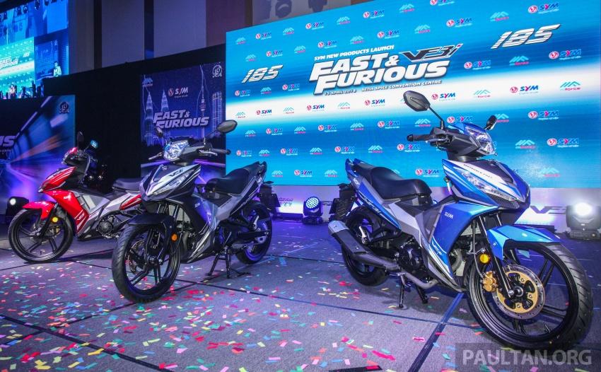 2018 SYM VF3i 183 cc supercub in Malaysia – RM8,467 Image #807535