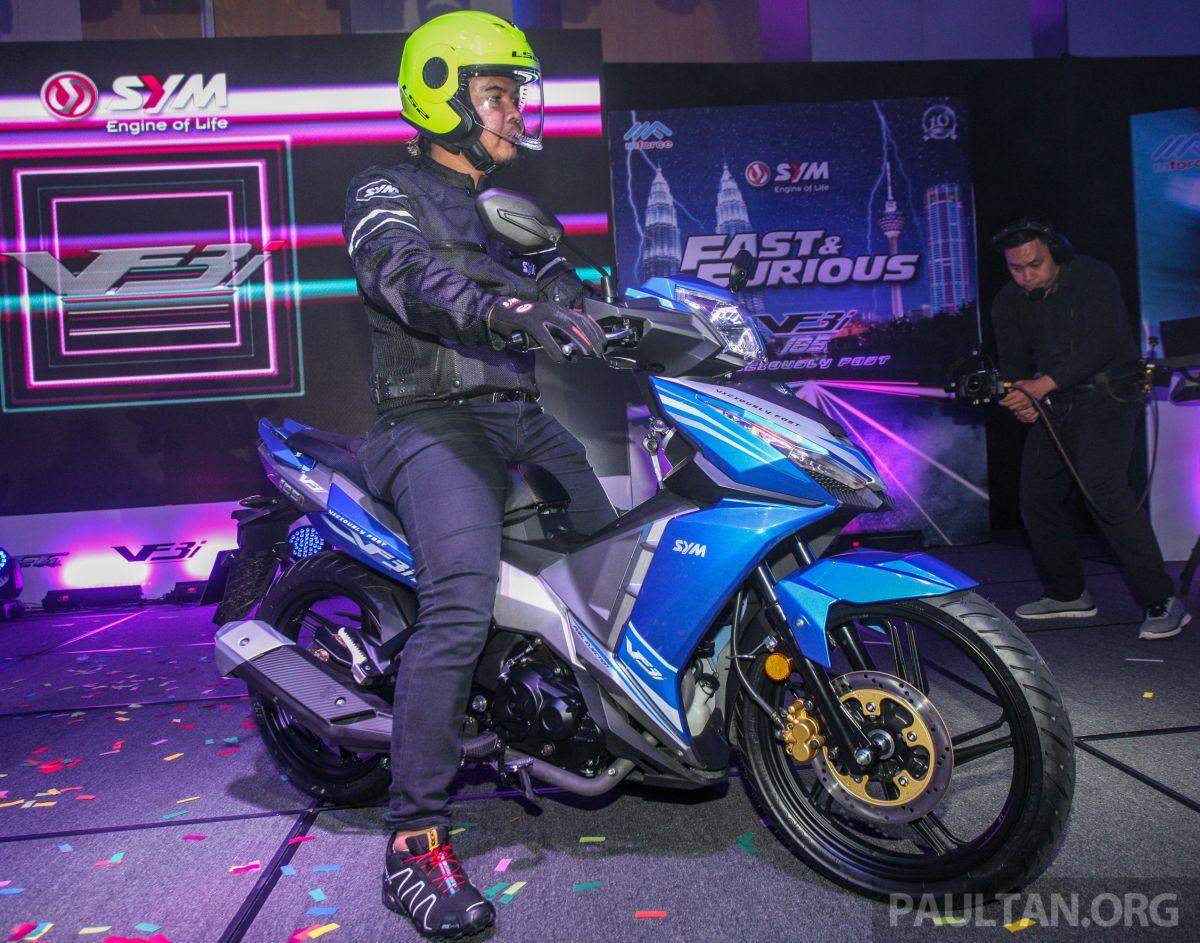 2018 SYM VF3i 183 cc supercub in Malaysia - RM8,467