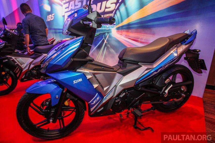 2018 SYM VF3i 183 cc supercub in Malaysia – RM8,467 Image #807541