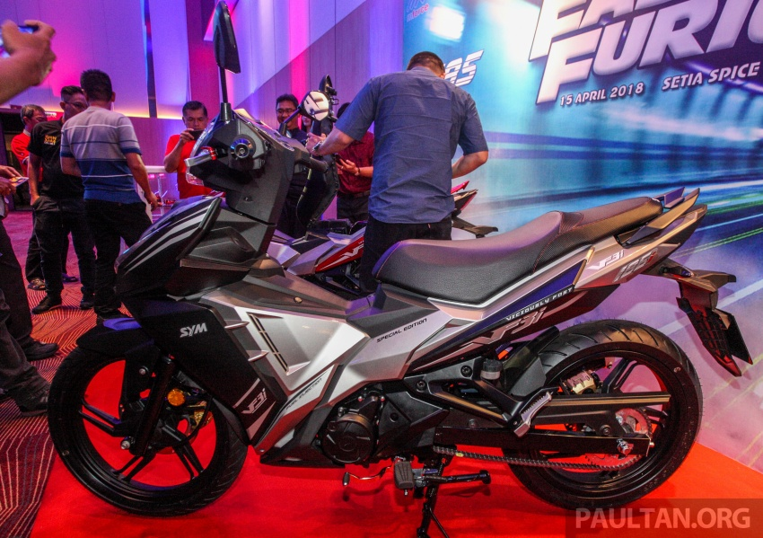 SYM VF3i vs Yamaha Y15ZR, Honda RS150R, Benelli RFS150i – latest 'supercub' takes on the establishment Image #808403