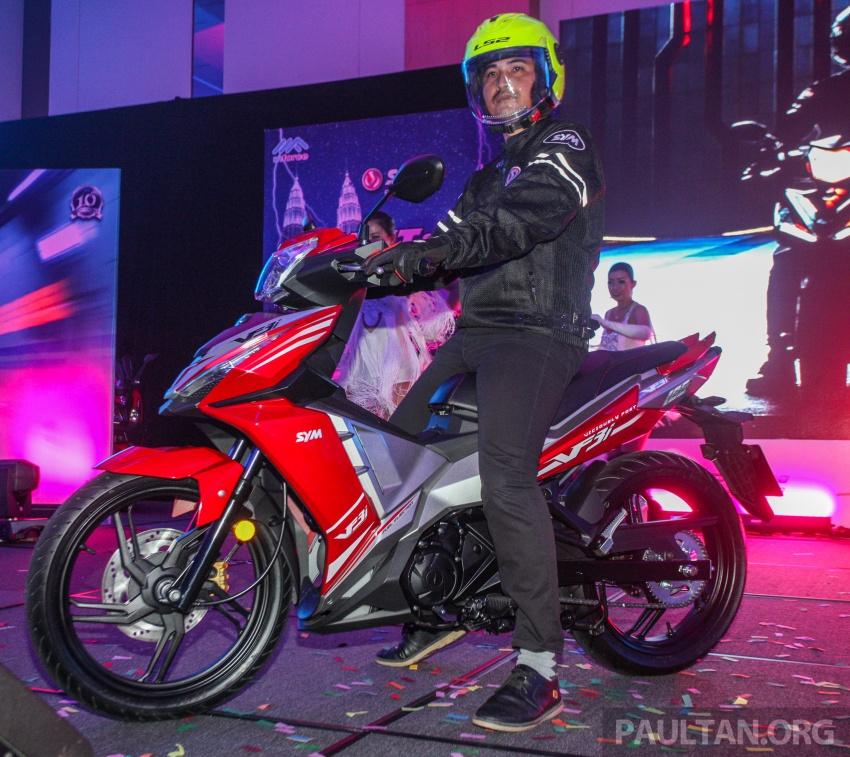 """SYM VF3i – Malaysia negara pertama terima """"kapcai berkapasiti paling tinggi di dunia"""", 183 cc, RM8,467 Image #806792"""