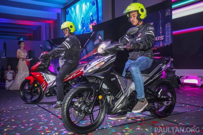 """SYM VF3i – Malaysia negara pertama terima """"kapcai berkapasiti paling tinggi di dunia"""", 183 cc, RM8,467 Image #806793"""