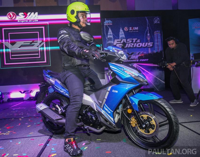 """SYM VF3i – Malaysia negara pertama terima """"kapcai berkapasiti paling tinggi di dunia"""", 183 cc, RM8,467 Image #806794"""