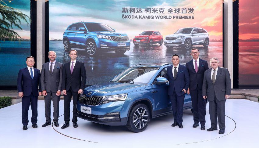 Skoda Kamiq revealed – B-segment SUV for China Image #810247