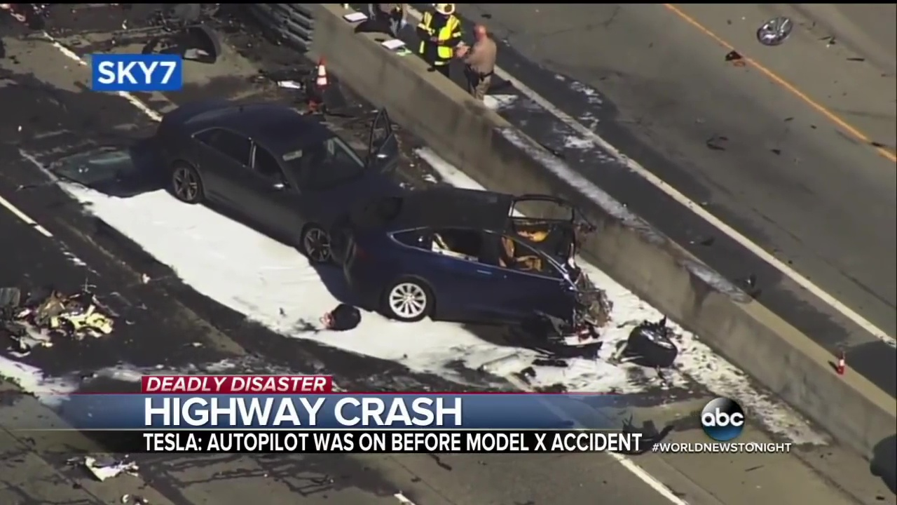 California Tax Calculator >> Tesla blames driver of Model X in fatal Autopilot crash