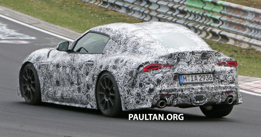 SPYSHOTS: New Toyota Supra gets a digital display Image #805614