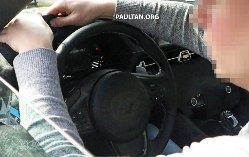 SPYSHOTS: New Toyota Supra gets a digital display Image #805605