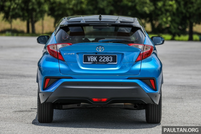 DRIVEN: Toyota C-HR 1.8L – about logic vs emotion Image #808230