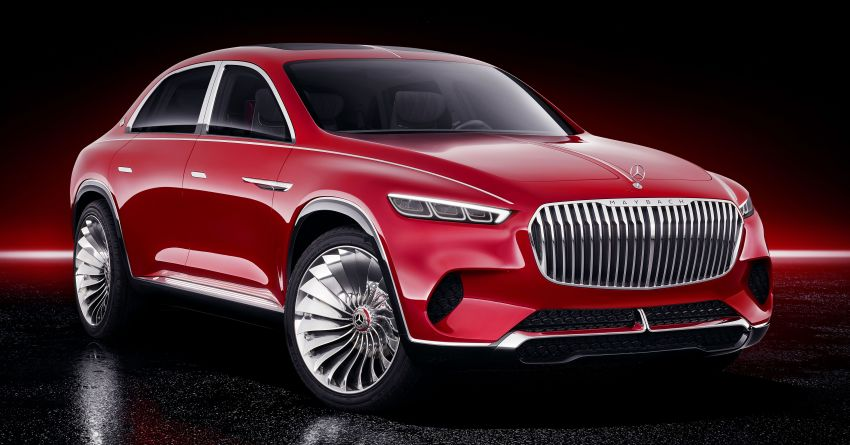 Vision Mercedes-Maybach Ultimate Luxury officially debuts in Beijing – four electric motors, 748 PS output Image #810481