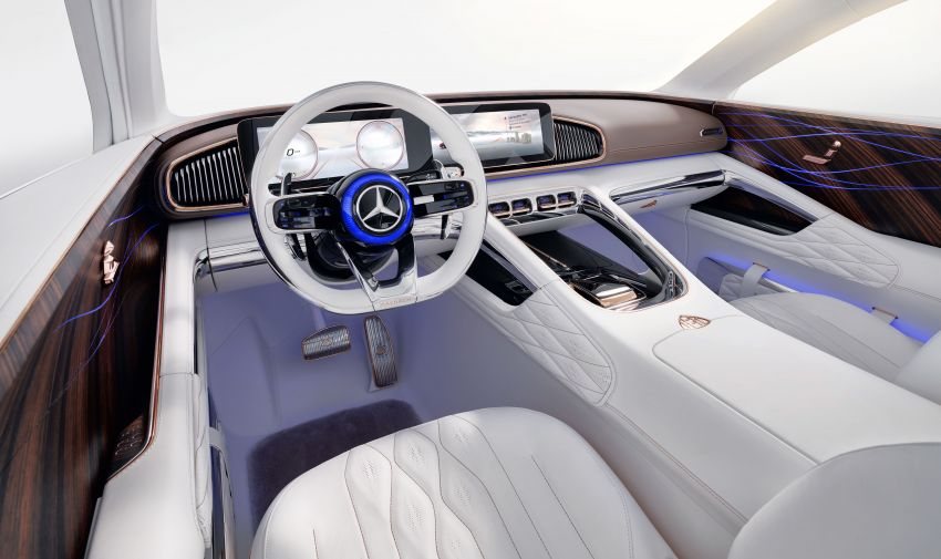 Vision Mercedes-Maybach Ultimate Luxury officially debuts in Beijing – four electric motors, 748 PS output Image #810498