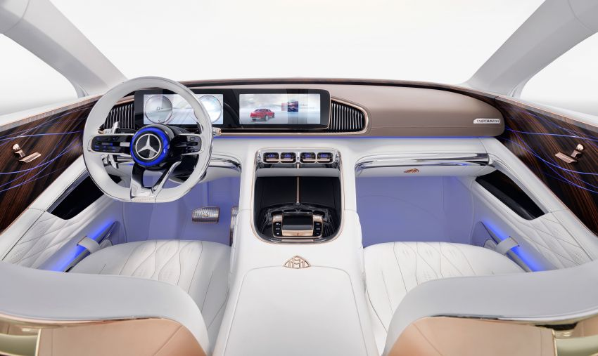 Vision Mercedes-Maybach Ultimate Luxury officially debuts in Beijing – four electric motors, 748 PS output Image #810509