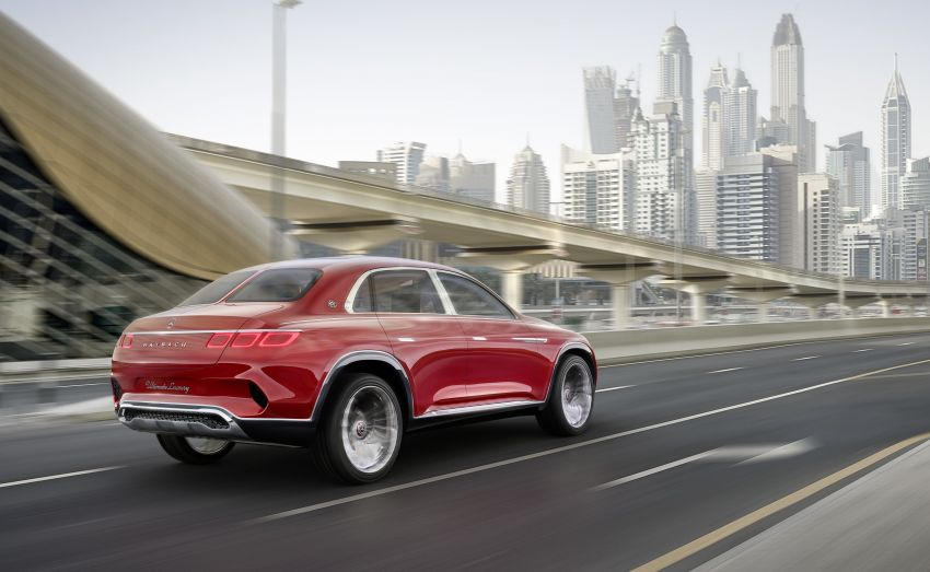 Vision Mercedes-Maybach Ultimate Luxury officially debuts in Beijing – four electric motors, 748 PS output Image #810510