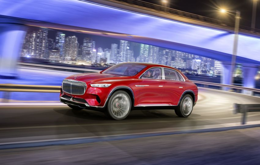 Vision Mercedes-Maybach Ultimate Luxury officially debuts in Beijing – four electric motors, 748 PS output Image #810511