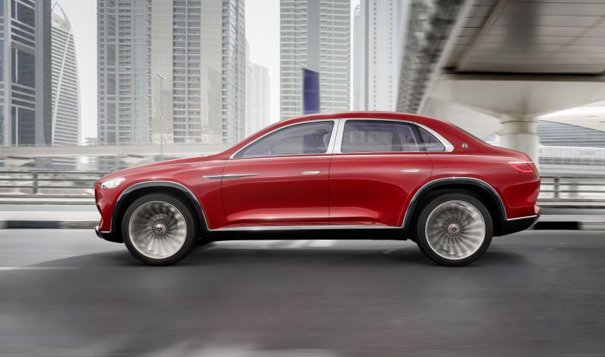 Vision Mercedes-Maybach Ultimate Luxury officially debuts in Beijing – four electric motors, 748 PS output Image #810512
