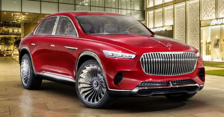 Vision Mercedes-Maybach Ultimate Luxury officially debuts in Beijing – four electric motors, 748 PS output Image #810513