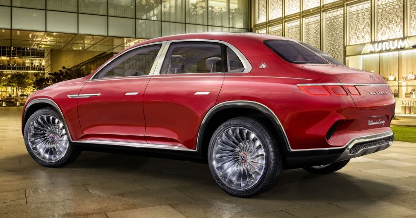 Vision Mercedes-Maybach Ultimate Luxury officially debuts in Beijing – four electric motors, 748 PS output Image #810514