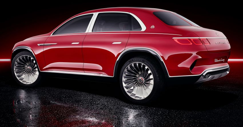 Vision Mercedes-Maybach Ultimate Luxury officially debuts in Beijing – four electric motors, 748 PS output Image #810482