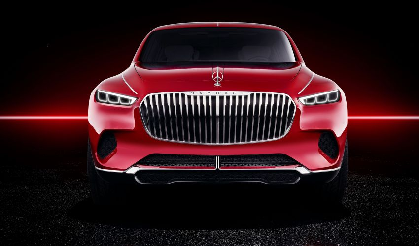 Vision Mercedes-Maybach Ultimate Luxury officially debuts in Beijing – four electric motors, 748 PS output Image #810483