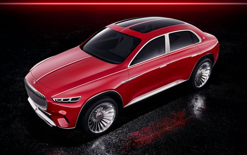 Vision Mercedes-Maybach Ultimate Luxury officially debuts in Beijing – four electric motors, 748 PS output Image #810485