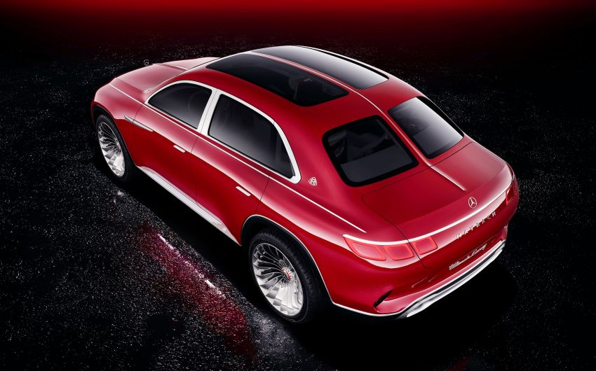 Vision Mercedes-Maybach Ultimate Luxury officially debuts in Beijing – four electric motors, 748 PS output Image #810486