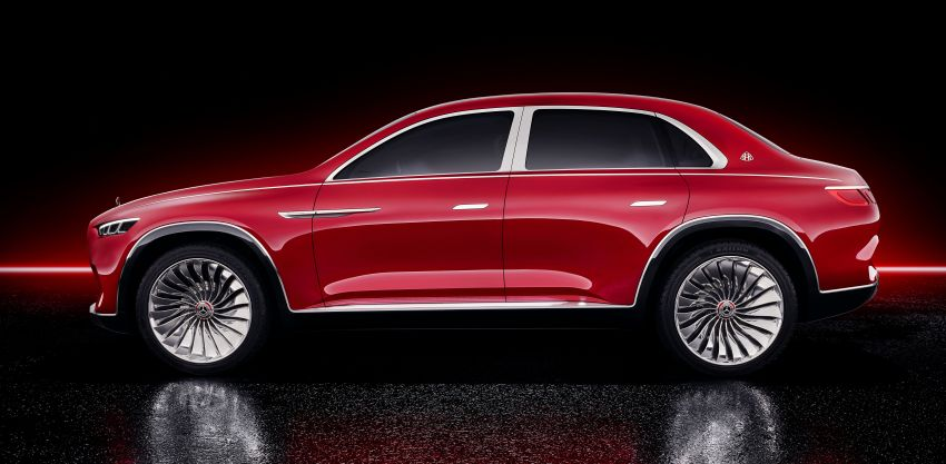 Vision Mercedes-Maybach Ultimate Luxury officially debuts in Beijing – four electric motors, 748 PS output Image #810488