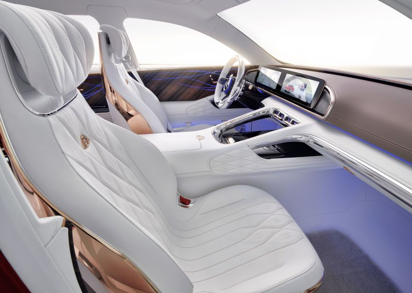 Vision Mercedes-Maybach Ultimate Luxury officially debuts in Beijing – four electric motors, 748 PS output Image #810490