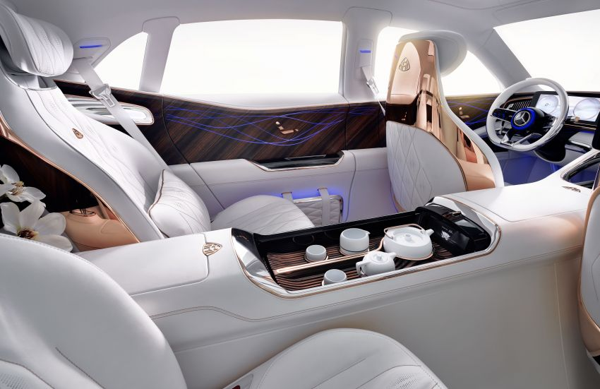 Vision Mercedes-Maybach Ultimate Luxury officially debuts in Beijing – four electric motors, 748 PS output Image #810494