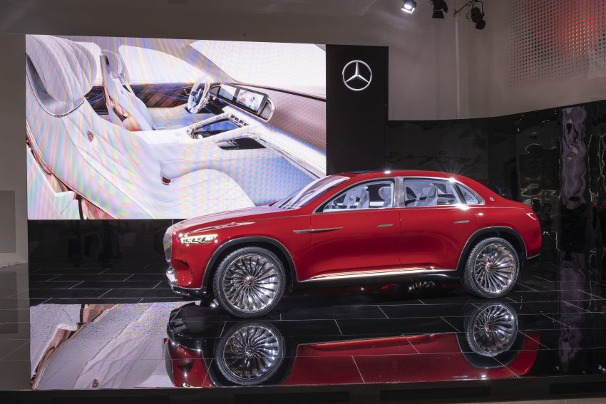 Vision Mercedes-Maybach Ultimate Luxury officially debuts in Beijing – four electric motors, 748 PS output Image #810628