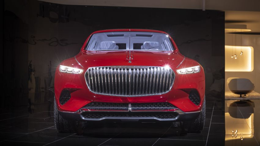 Vision Mercedes-Maybach Ultimate Luxury officially debuts in Beijing – four electric motors, 748 PS output Image #810629