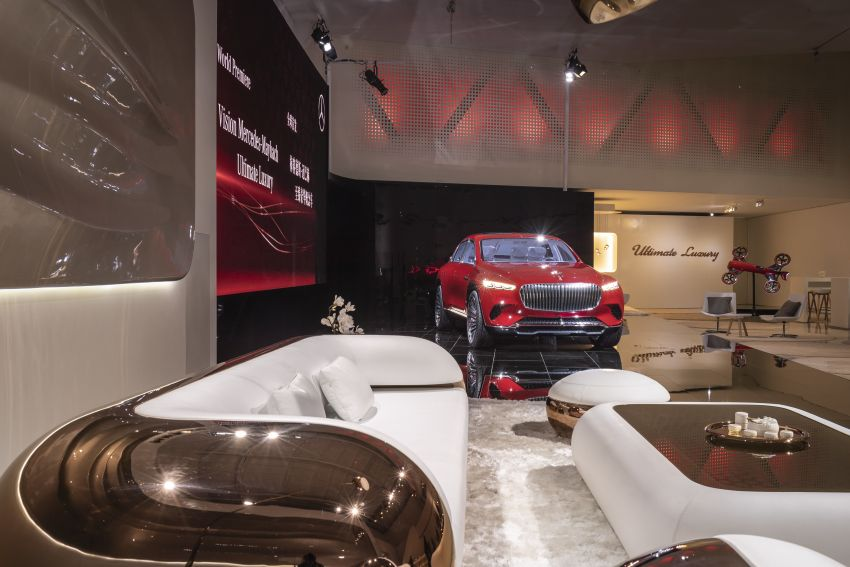 Vision Mercedes-Maybach Ultimate Luxury officially debuts in Beijing – four electric motors, 748 PS output Image #810630