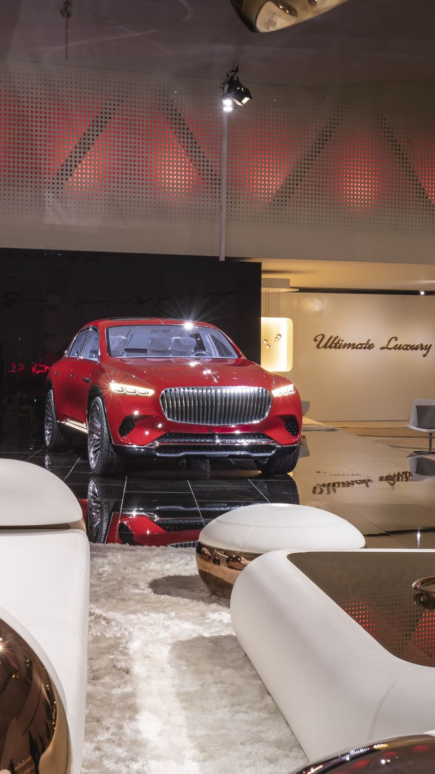 Vision Mercedes-Maybach Ultimate Luxury officially debuts in Beijing – four electric motors, 748 PS output Image #810631