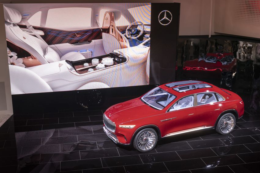 Vision Mercedes-Maybach Ultimate Luxury officially debuts in Beijing – four electric motors, 748 PS output Image #810633