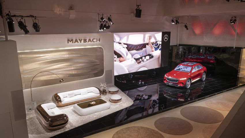 Vision Mercedes-Maybach Ultimate Luxury officially debuts in Beijing – four electric motors, 748 PS output Image #810635