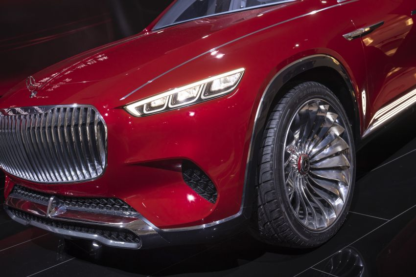 Vision Mercedes-Maybach Ultimate Luxury officially debuts in Beijing – four electric motors, 748 PS output Image #810638