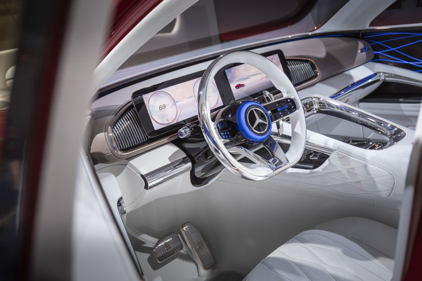 Vision Mercedes-Maybach Ultimate Luxury officially debuts in Beijing – four electric motors, 748 PS output Image #810639