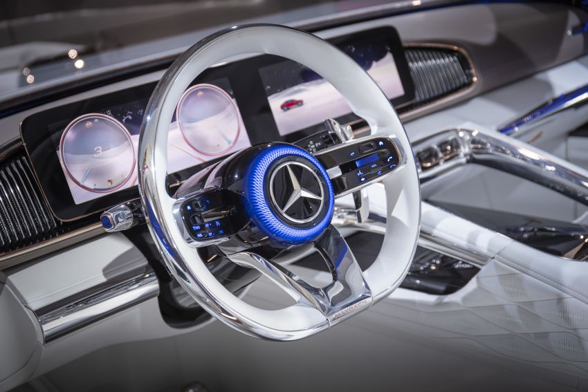 Vision Mercedes-Maybach Ultimate Luxury officially debuts in Beijing – four electric motors, 748 PS output Image #810640