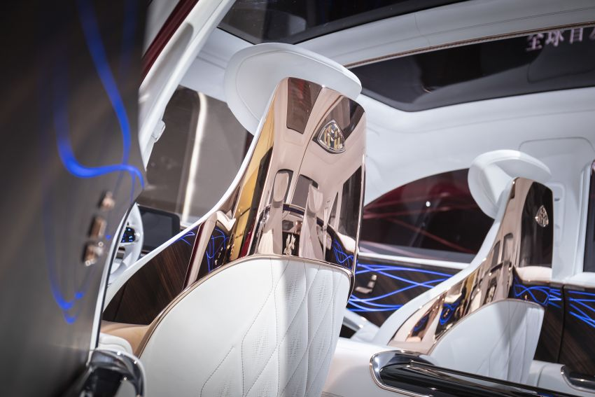 Vision Mercedes-Maybach Ultimate Luxury officially debuts in Beijing – four electric motors, 748 PS output Image #810641