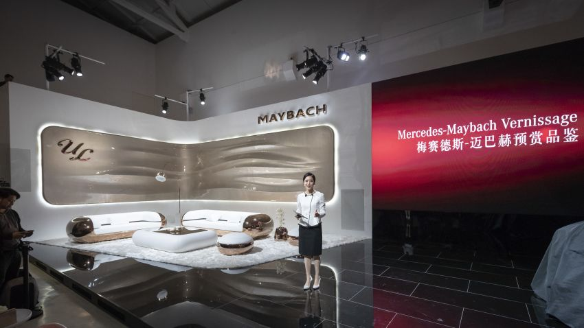 Vision Mercedes-Maybach Ultimate Luxury officially debuts in Beijing – four electric motors, 748 PS output Image #810612