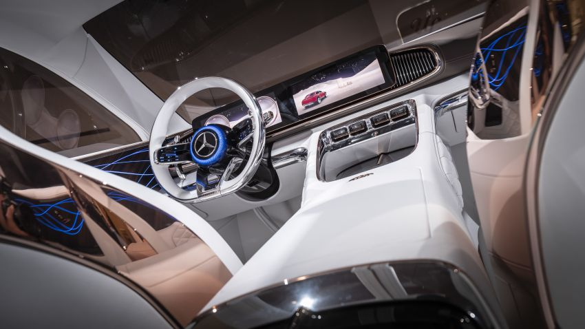 Vision Mercedes-Maybach Ultimate Luxury officially debuts in Beijing – four electric motors, 748 PS output Image #810646