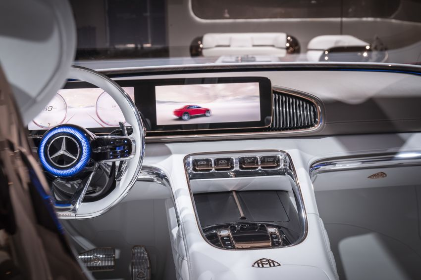 Vision Mercedes-Maybach Ultimate Luxury officially debuts in Beijing – four electric motors, 748 PS output Image #810647