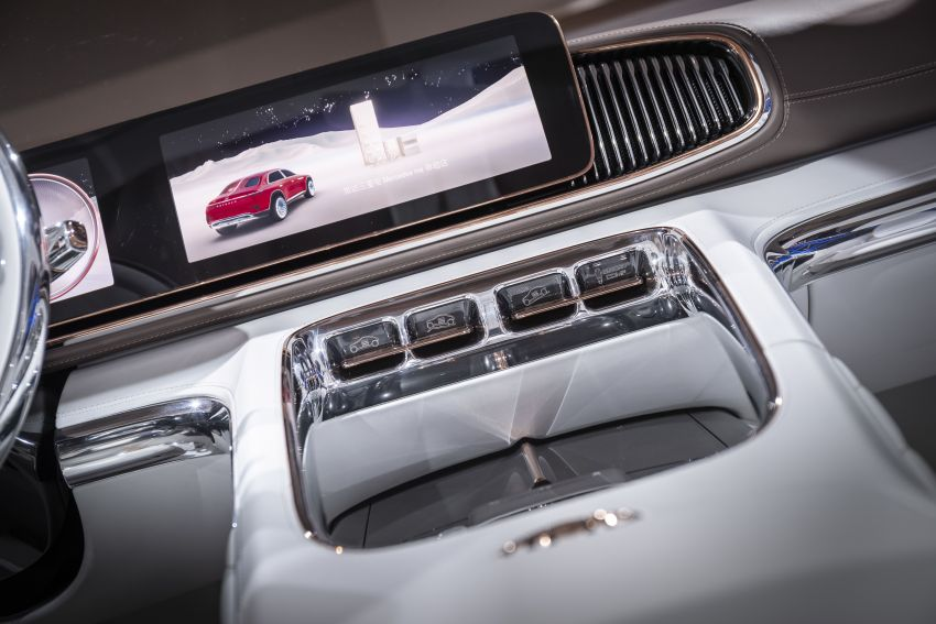 Vision Mercedes-Maybach Ultimate Luxury officially debuts in Beijing – four electric motors, 748 PS output Image #810648