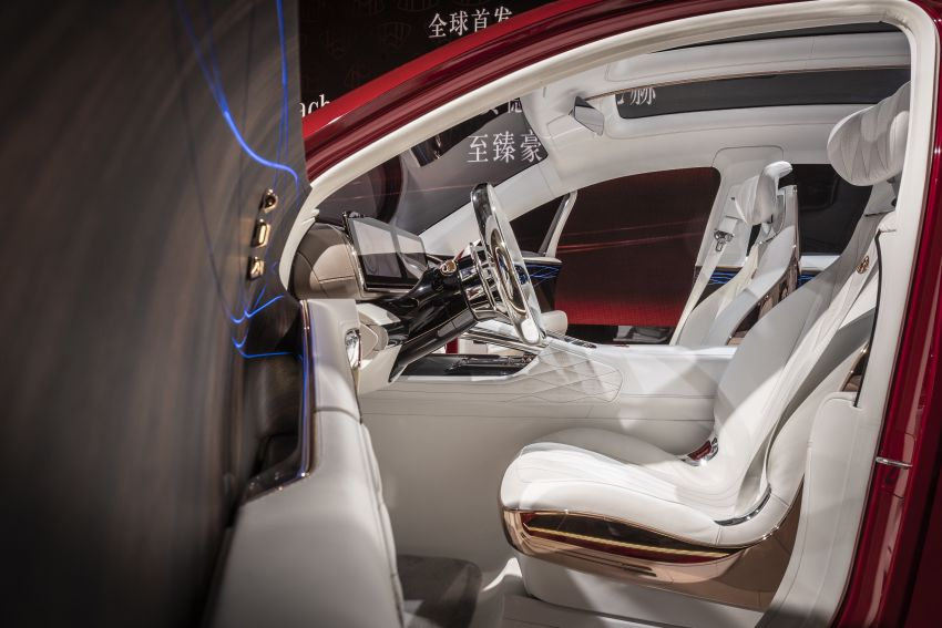 Vision Mercedes-Maybach Ultimate Luxury officially debuts in Beijing – four electric motors, 748 PS output Image #810651