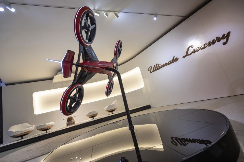 Vision Mercedes-Maybach Ultimate Luxury officially debuts in Beijing – four electric motors, 748 PS output Image #810657