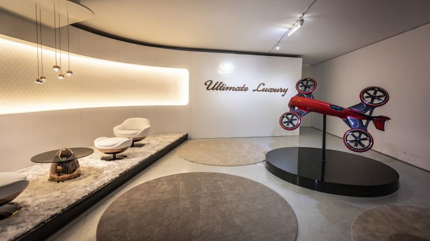 Vision Mercedes-Maybach Ultimate Luxury officially debuts in Beijing – four electric motors, 748 PS output Image #810658