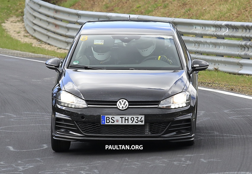 SPIED: Volkswagen Golf Mk8 seen for the first time Image #807402