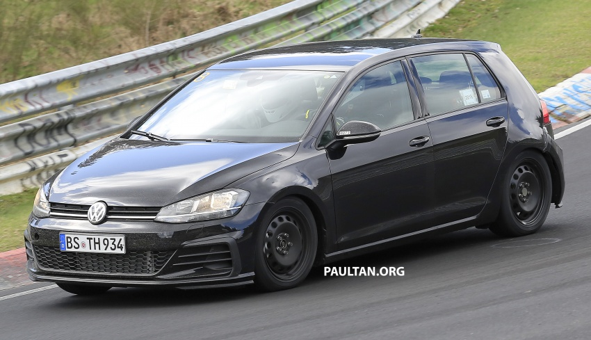 SPIED: Volkswagen Golf Mk8 seen for the first time Image #807413