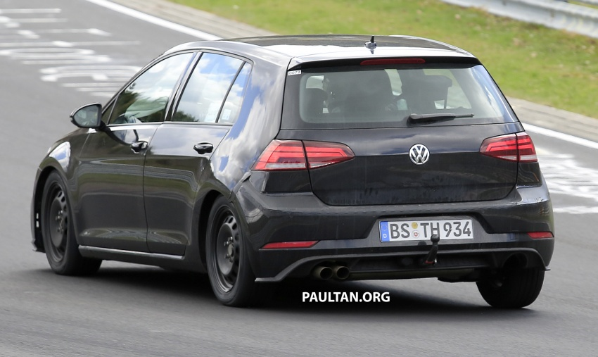 SPIED: Volkswagen Golf Mk8 seen for the first time Image #807423