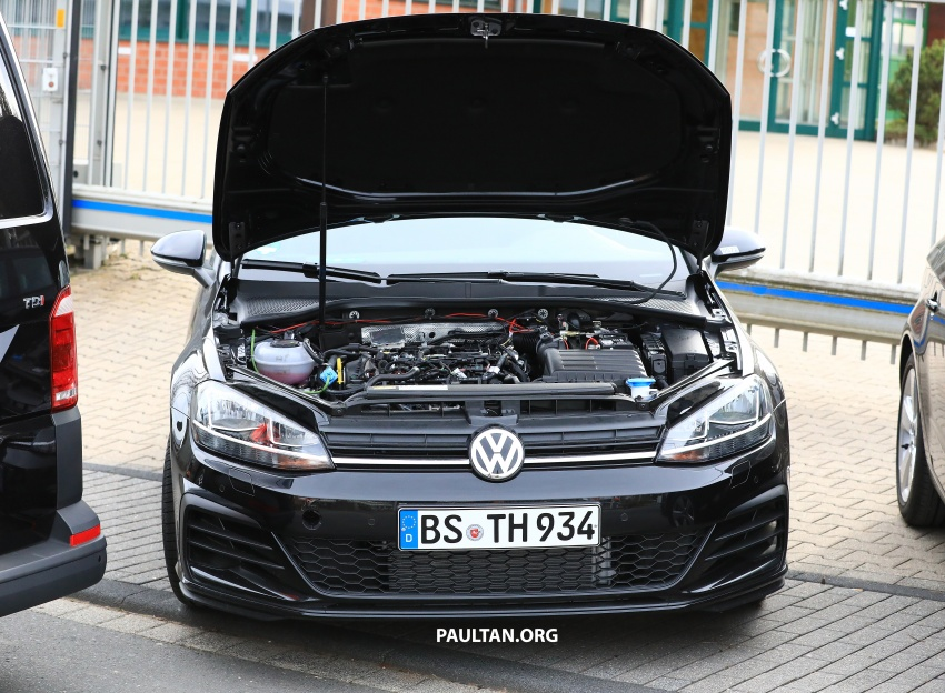 SPIED: Volkswagen Golf Mk8 seen for the first time Image #807426